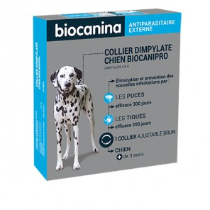 Biocanina biocanipro collier insecticide pour chien