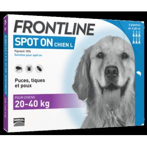 Frontline Spot On Chiens L 20-40 kg