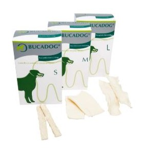 Bucadog Lamelles L buccales pour chien plus 30 Kg