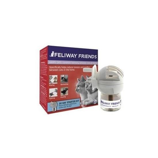 Feliway Friends Diffuseur Plus Recharge 48 ml