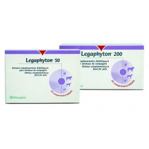 Legaphyton 200 - fonction hépatique et rénale chien et chat (24cp)