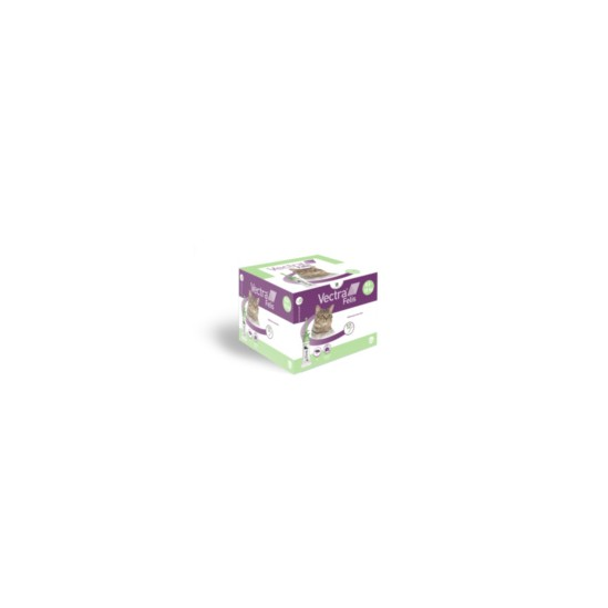 Vectra Felis 423 mg/42,3 mg Solution pour spot-on pour chats