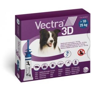 Vectra 3D Pipettes Chien 10 à 25 Kg