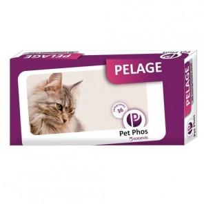 Pet Phos Pelage Chat 36 Comprimés