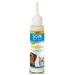 Lait nettoyant oreilles Vetoform aux extraits naturels 100 ml