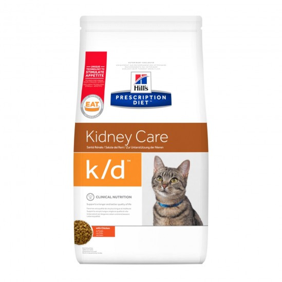 Hill's™ Prescription Diet™ k/d™ Feline au Poulet