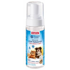 DIMETHICARE, mousse stop parasites pour chiens et chats au Diméthicone - 150ml