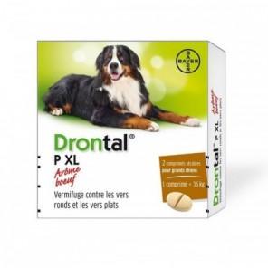 Bayer Drontal XL 2 Comprimés (pochettes)