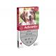 Bayer Advantix Chien Moyen 10 à 25kg 6 pipettes anti puces et tiques