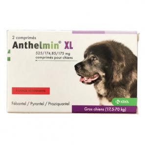 Anthelmin Chien XL 17.5 à 70 Kg