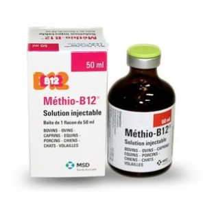 Methio B12 Injectable 50ml ou 100 ml