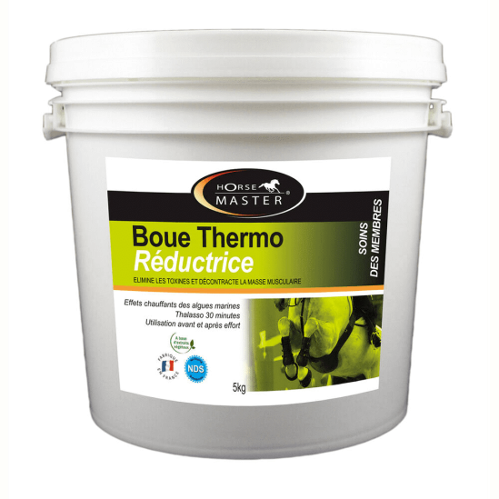 Boue Thermo Reductrice Horse Master 5 kg ou 10 kg