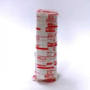 PLATRIX Bande plâtrée pour immobilisation à prise rapide 2 minutes 45, 2 m x 15 cm