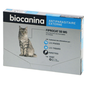 Fiprocat 50MG - 3 Pipettes