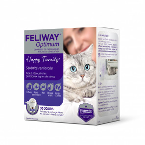 FELIWAY Optimum Diffuseur et Recharge de 48 ml