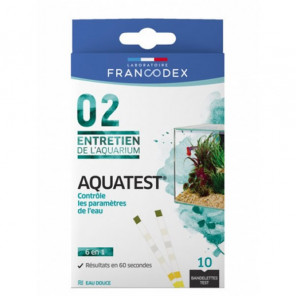 Francodex Aquatest 10 bandelettes