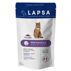Lapsa adulte maintenance riche en poulet 2kg