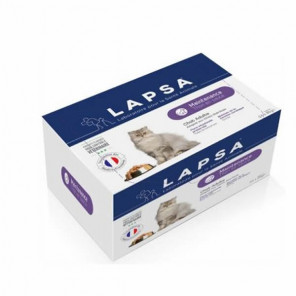 Lapsa sachets fraîcheur chat adulte maintenance 2kg