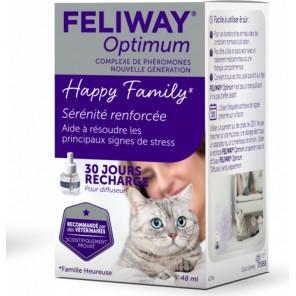 FELIWAY Optimum Recharge de 48 ml pour 1 mois