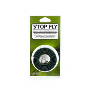 S'top Fly Collier insectifuge Naturel pour Chevaux