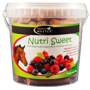 Nutri Sweet Friandises Cheval 1 Kg Horse Master Fruits Rouges