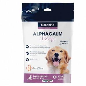 Alphacalm tasty chiens 30 bouchées - photo non contractuelle