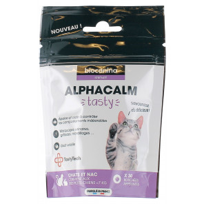 alphacalm tasty chats 30 bouchées appétentes - photo non contractuelle