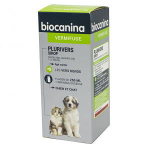 Biocanina Plurivers sirop chiens et chats 250ml - photo non contractuelle